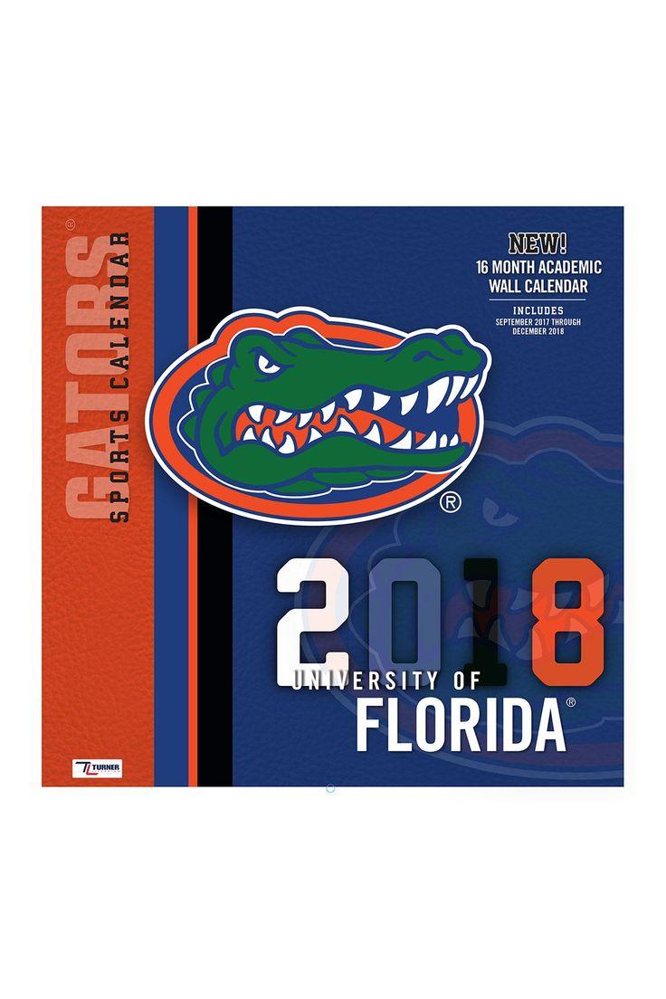 Turner Sports Florida Gators Wall Calendar Wall calendar