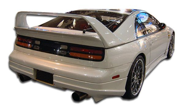 1990-1996 Nissan 300zx Z32 2DR Coupe Duraflex Bomber Rear Lip Under Spoiler Air Dam - 1 Piece