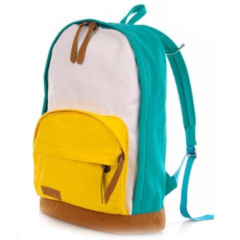 Рюкзак Love Backpack бирюзово-желтый
