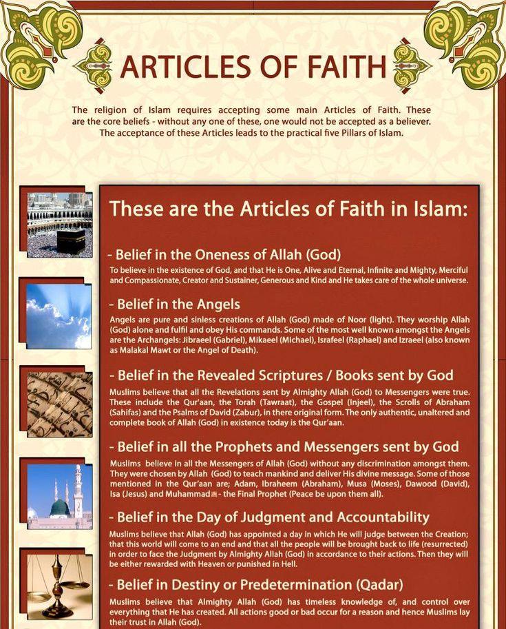 What is the Pillar of Faith.