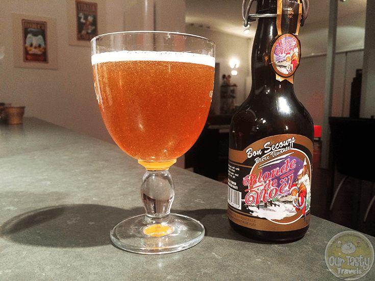 Brasserie Caulier - Caulier Bon Secours Blonde de Noel(Strong ale) 10,0% pullo