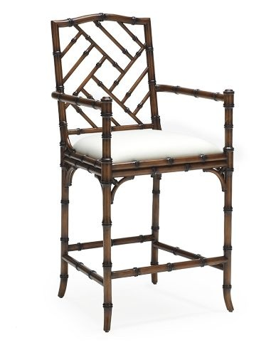 17 Best Images About Chinoserie Bar Stool On Pinterest