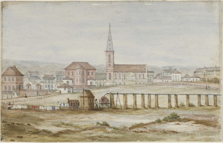 On this day, 24 March 1827, an engineer named John Busby began work on a scheme to pipe fresh water from the Lachlan swamps to a reservoir in the area now called Hyde Park in Sydney. This pipeline became known as Busby's Bore. It took 10 years of convict labour to bore through 3.6 km of rock. Once the water reached the reservoir, it was distributed around the city by horse drawn carts.The State Library of New South Wales holds many pictures and manuscripts relating to Busby's bore and the…