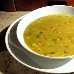 Sopa de avena y espinacas | Cocinar en casa es facilisimo.com