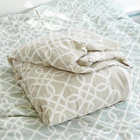 Suzanne Kasler Quatrefoil Bedding by Ballard Designs