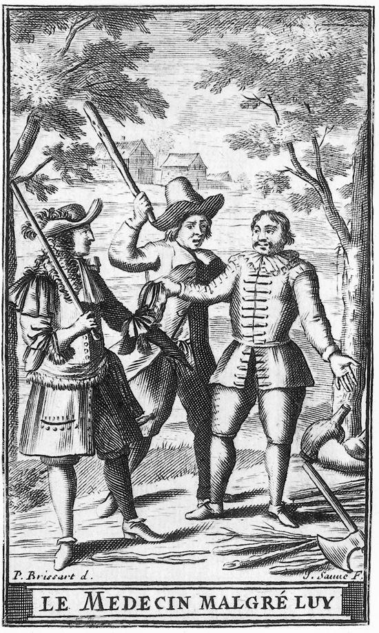 Molière, le Médecin malgré lui