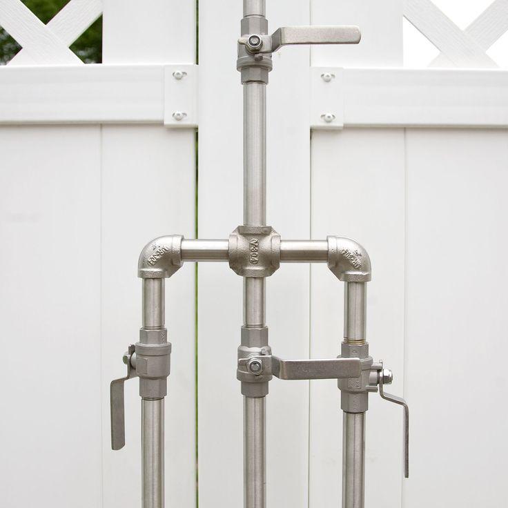 Diy Outdoor Bathroom: Hardware, Showers And