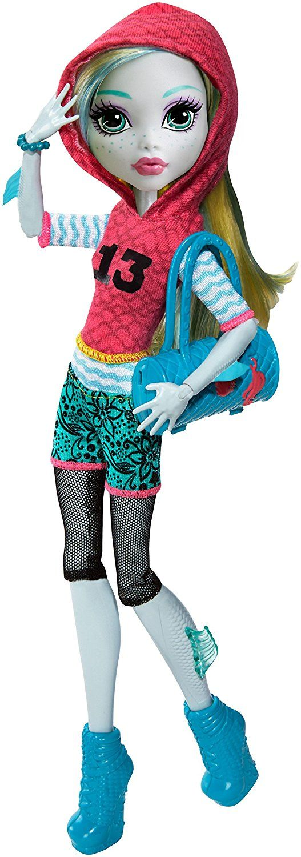 Mattel Monster High DVH25 - Todschicke Monsterschülerin Lagoona Puppe, Ankleidepuppen-Zubehör: Amazon.de: Spielzeug