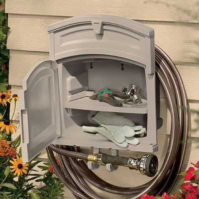 17 best ideas about Hose Hanger on Pinterest Garden hose hanger