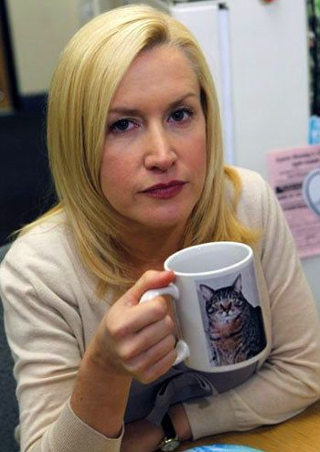 Every time she sipped from a cat mug.