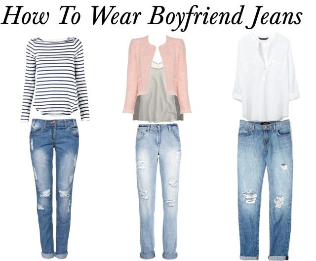 how to wear boyfriend jeans in summer