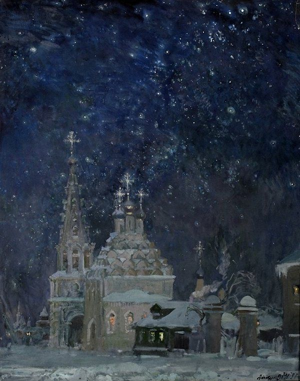 janpadora-box:  Michael Abakumov - Christmas. (Михаил Абакумов Рождество)