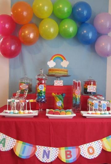 Hostess with the Mostess® - Rainbow Party Photoshoot