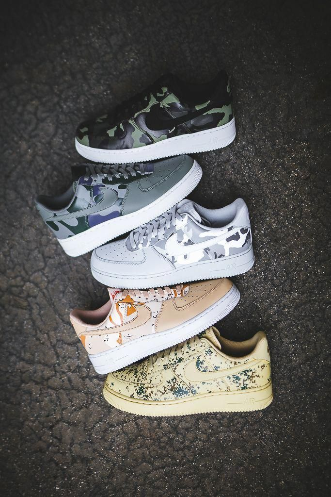 Ein Weiterer Blick Auf Den Nike Air Force 1 Low Country Camo Pack