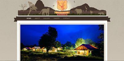 Website Design, Camp Dev Villas, Kanha