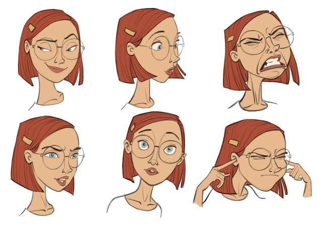 Borja Montoro Character Design. Well done. Hope they don't mind my saying in the Disney School of characters. Good capture of expressions without superfluous extras!
