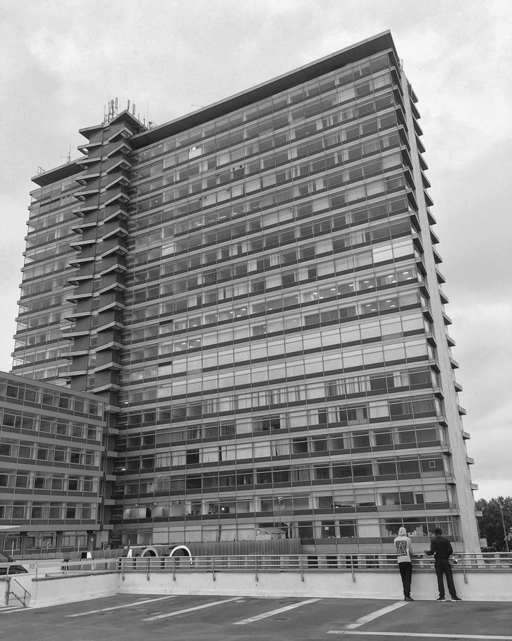 The Tolworth Tower. Interesting piece of 60s architecture. Not the most exotic of work trips but a fun week.