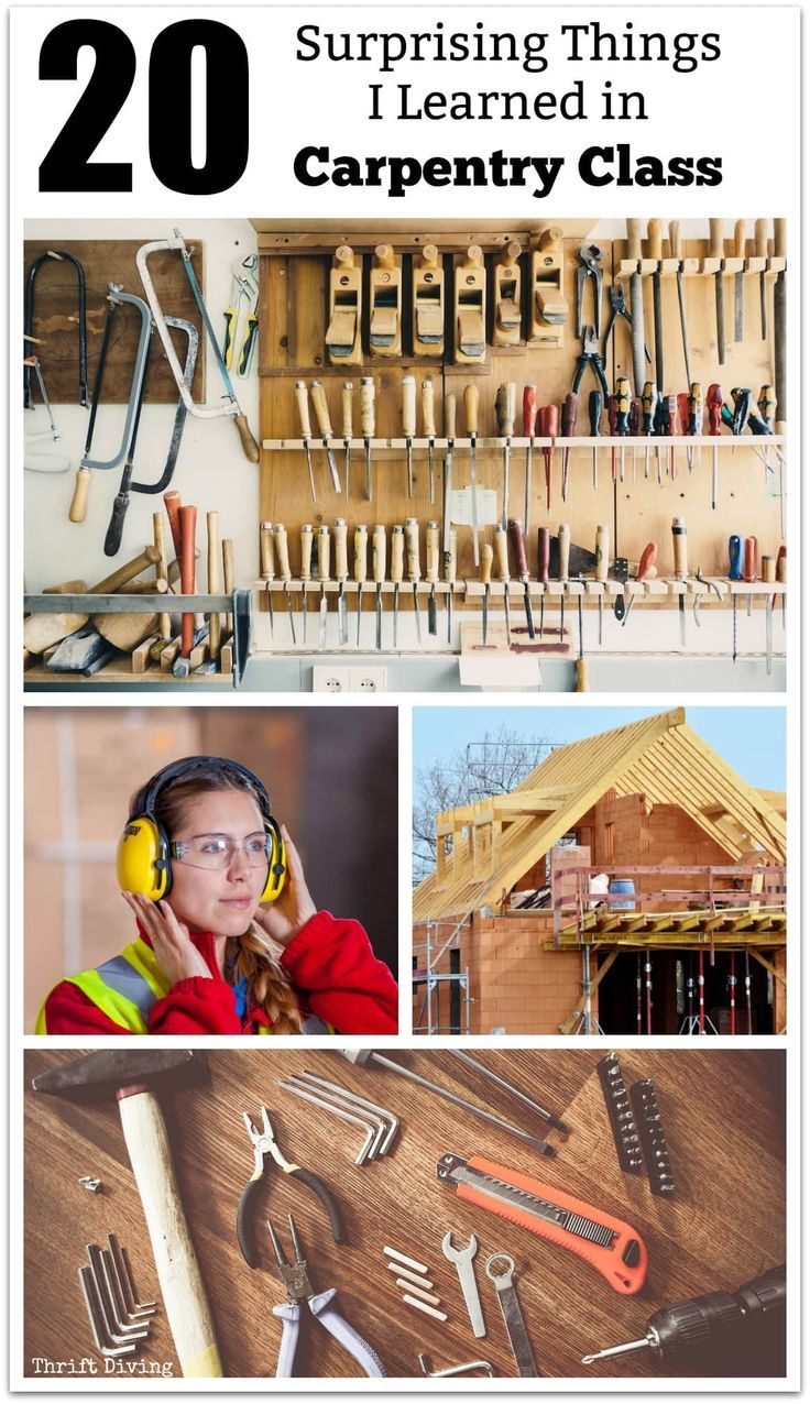 20 Surprising Things I Learned in Carpentry Classes - 20 surprising things about your home that you never knew, including how your home can survive hurricanes, prevent fire damage, buying new windows, etc.