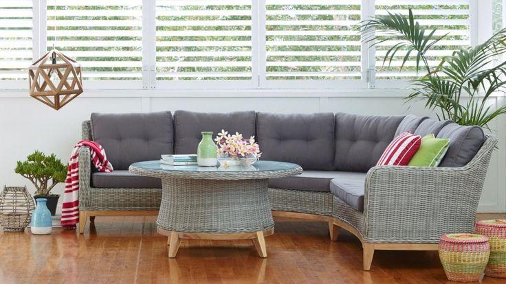 Tobago 4 Piece Outdoor Lounge Suite - Outdoor Lounges - Outdoor Living - Furniture, Outdoor & BBQs | Harvey Norman Australia