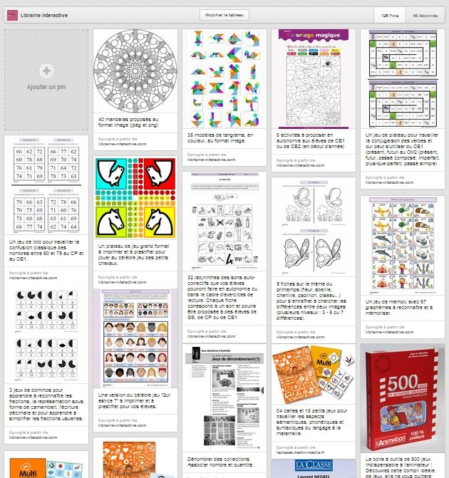 Des centaines de liens vers des activités d'autonomie et des jeux recensés pour vous simplifier la vie.