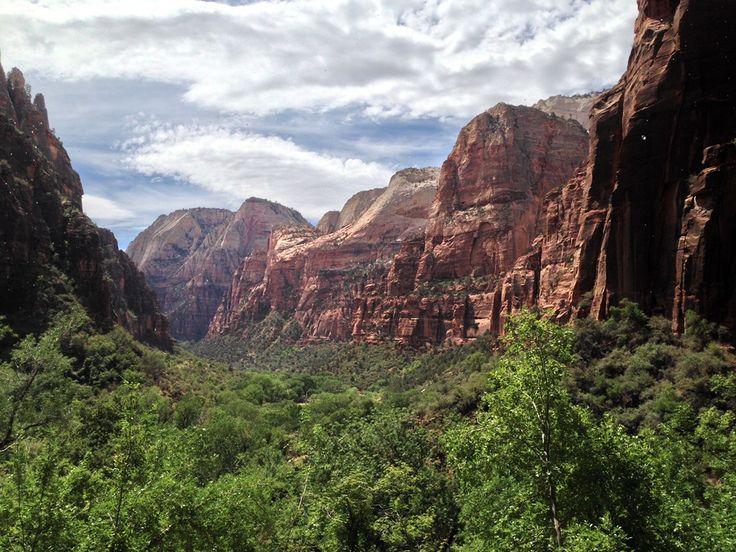 Parki Narodowe USA: Zion – uciekając przed gradem – Rusz w Podróż