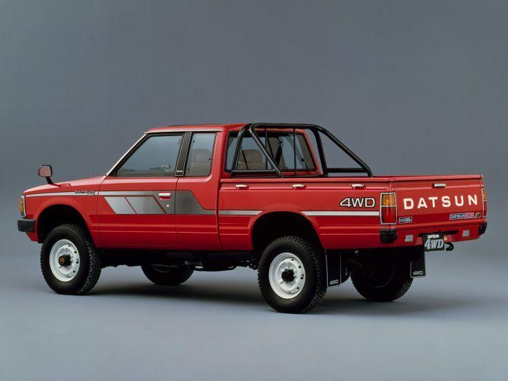1982 datsun pickup 4wd king cab jp spec 720 love utes pickups pinterest nissan nissan. Black Bedroom Furniture Sets. Home Design Ideas