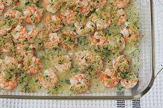 Garlicky Baked Shrimp |