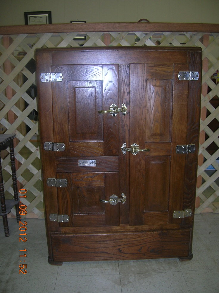 17 best images about antique ice boxes on pinterest for Furniture mo