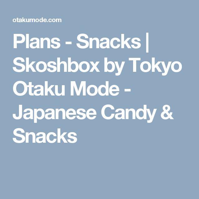 Plans - Snacks   Skoshbox by Tokyo Otaku Mode - Japanese Candy & Snacks