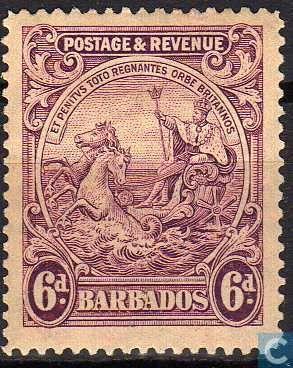 Barbados [BRB] - New colonial seal 1925