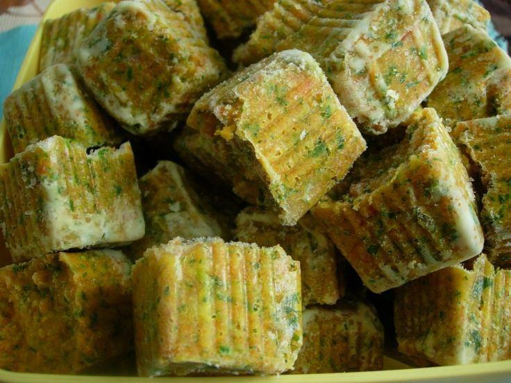 Cuburi concentrate de legume
