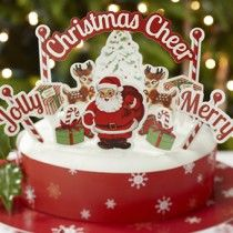 Cake Decoration Kit - Christmas Cheer