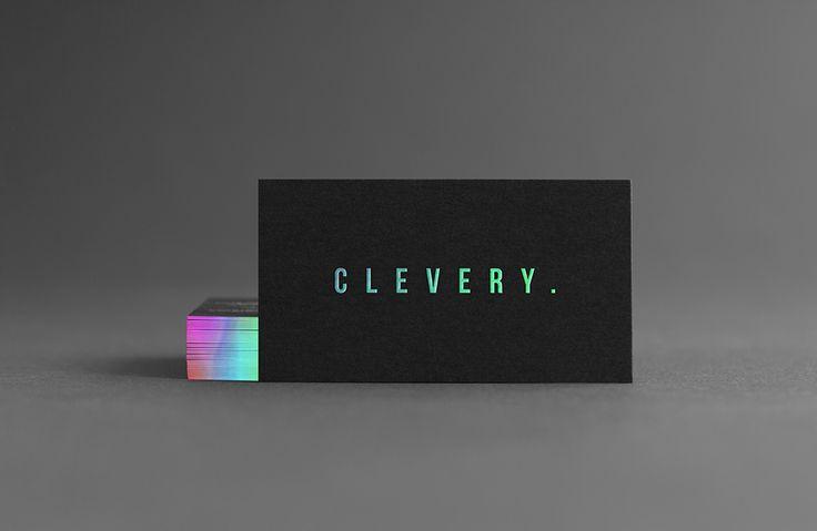 Business Card Design #holographic #businesscard #mockup