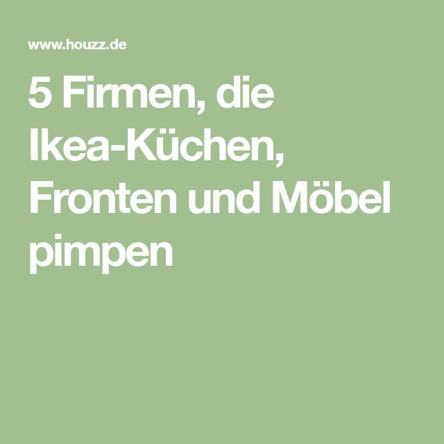 5 Firmen, die Ikea-Küchen, Fronten und Möbel pimpen
