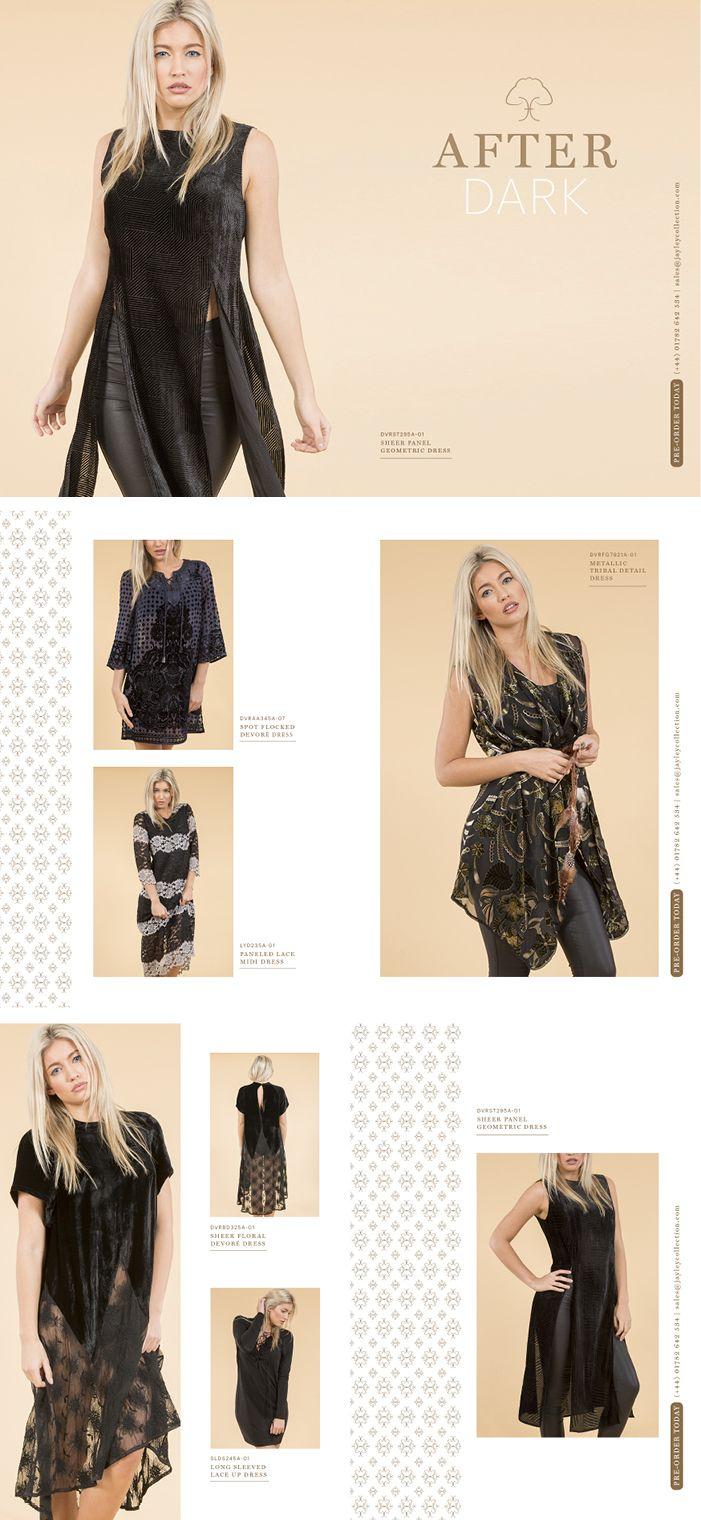 AFTER DARK Jayley SS16 Dresses, Shirts, Tops, Kimonos www.jayley.com