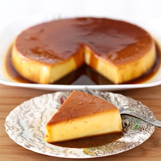 AT THE WEDDING THERE WILL BE CUBAN FLAN, NOT MEXICAN FLAN, CUBAN FLAN