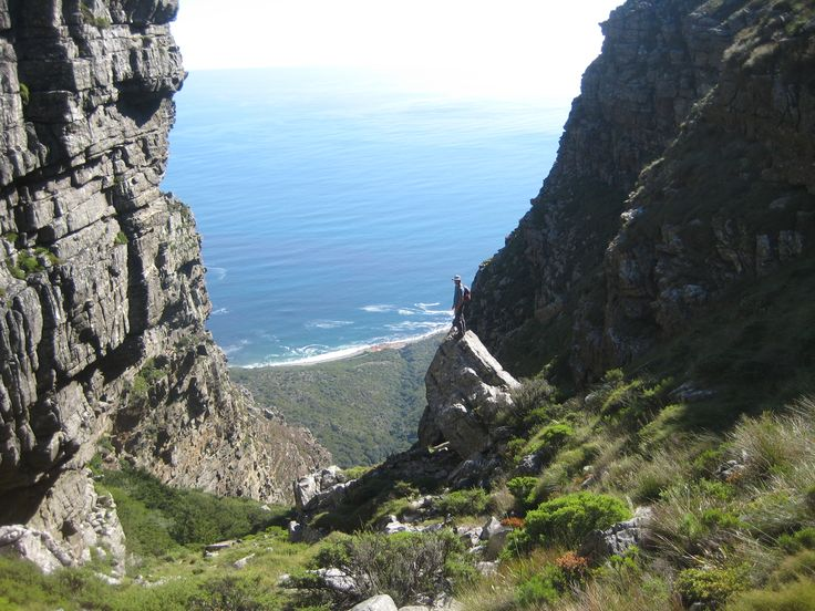 Client hike - Grootkop - Table Mountain - South Africa - http://www.travelmoodz.com/en/travel-professional/riaan-vorster