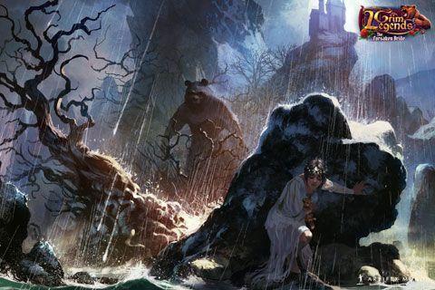Grim Legends: The Forsaken Bride  480x320 #wallpaper