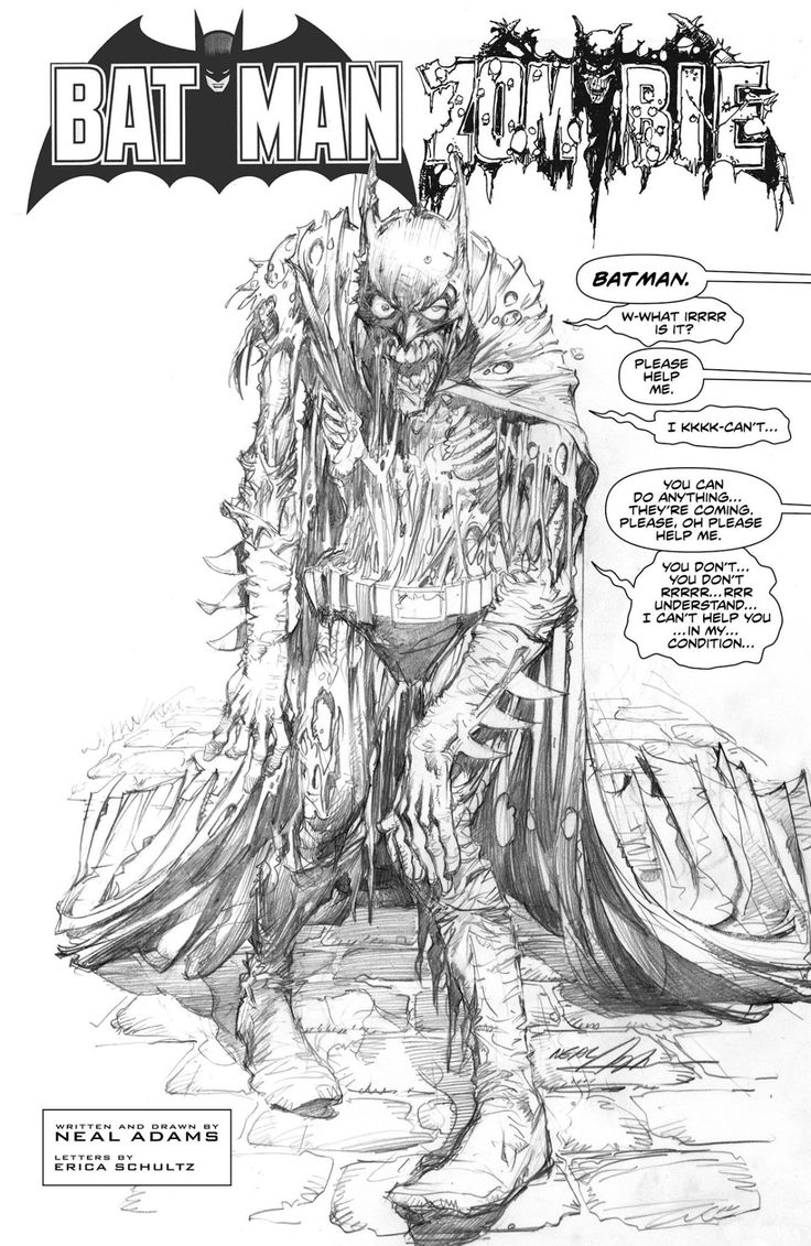 Zombie Batman by Neal Adams