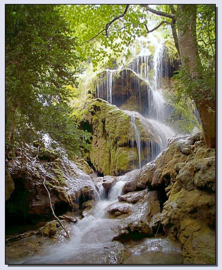 Cascade inférieure de Saint-Maurin, Gorges du Verdon #decorspaca #cascade