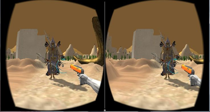 Welcome on deadly desert. Kill the Skeletons - they can be anywhere.   Try to not lost in piramids world !  Skeletons archers, warlocks and more are waiting for you !  Try to beat your friens score.  Best VR experience !   To kill VR enemies you have to have a VR glasses and controller.