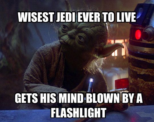 Wisest Jedi to ever live...
