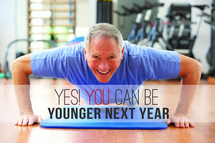 Yes, you can be younger next year – here's how.  The New York Times best-seller, Younger Next Year by retired lawyer Chris Crowley and Dr. Henry Lodge is a good read for anyone, at any age.