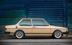 1982 Volkswagen Jetta 2-Door Side