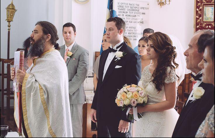 church wedding in Santorini