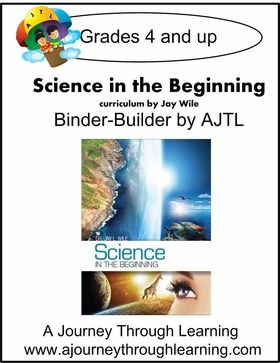 L & H  Jay Wile's Science in the Begininning Binder-Builder