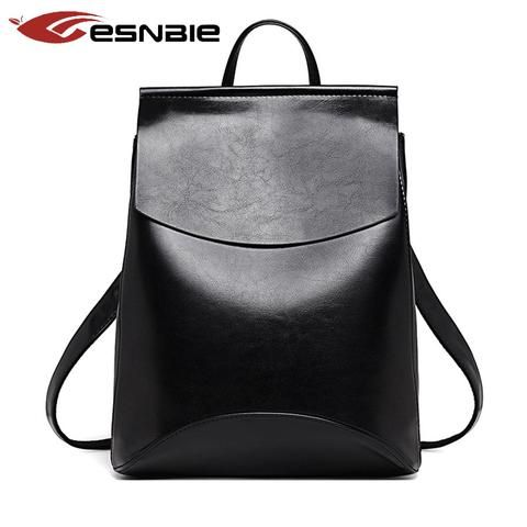 Fashion Women Backpack High Quality Youth Leather Backpacks for Teenage Girls Female School -handbags - Buy2Moda