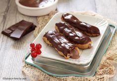 Eclair al cioccolato, ricetta con video