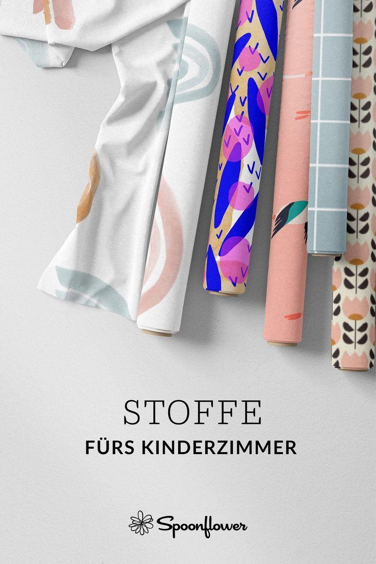 Stoffe fürs Kinderzimmer online kaufen auf Spoonflower