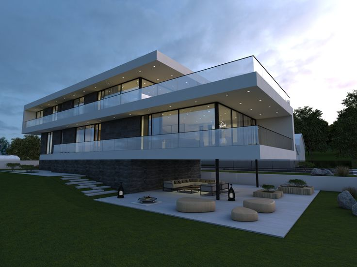 modern villa in Kaunas by NG architects www.ngarchitects.lt